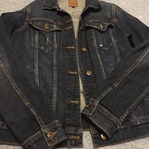 Stylish blue jean jacket